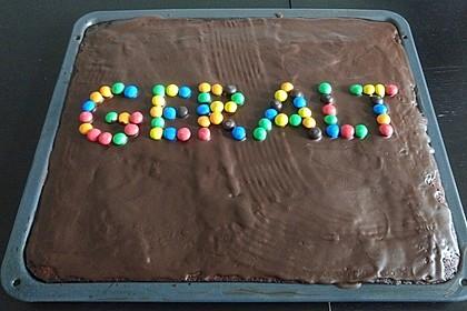 Der weltbeste Schokoladen - Blechkuchen 67