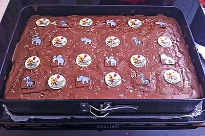 Der weltbeste Schokoladen - Blechkuchen 26