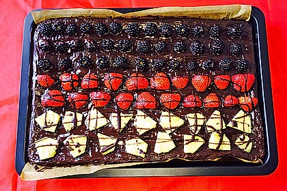 Der weltbeste Schokoladen - Blechkuchen 15