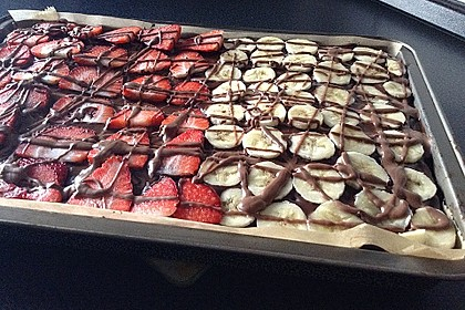 Der weltbeste Schokoladen - Blechkuchen 37