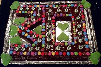Der weltbeste Schokoladen - Blechkuchen 23