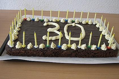 Der weltbeste Schokoladen - Blechkuchen 16