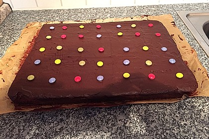 Der weltbeste Schokoladen - Blechkuchen 46