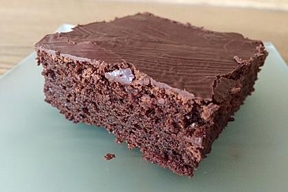 Der weltbeste Schokoladen - Blechkuchen 45