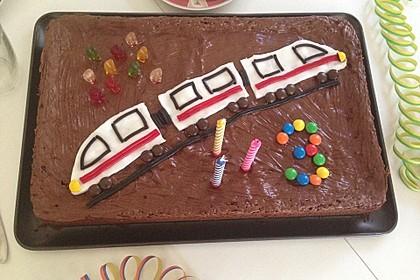 Der weltbeste Schokoladen - Blechkuchen 21