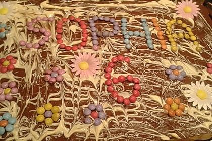 Der weltbeste Schokoladen - Blechkuchen 29