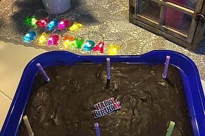 Der weltbeste Schokoladen - Blechkuchen 84