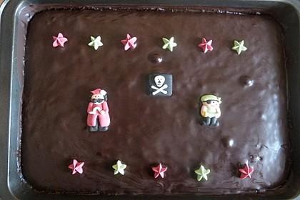 Der weltbeste Schokoladen - Blechkuchen 82