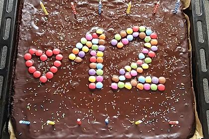 Der weltbeste Schokoladen - Blechkuchen 80