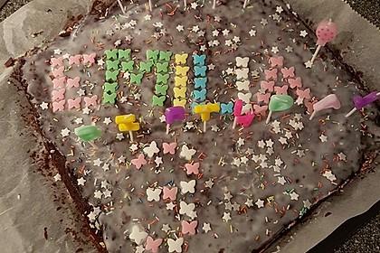 Der weltbeste Schokoladen - Blechkuchen 60
