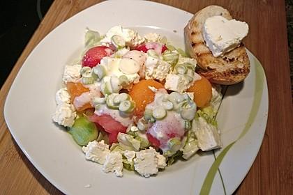 Melonensalat mit Feta 12