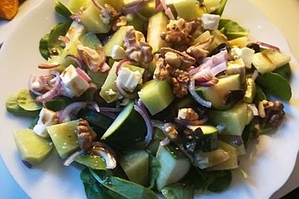 Melonensalat mit Feta 19