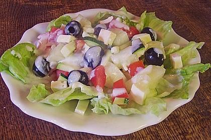 Melonensalat mit Feta 2