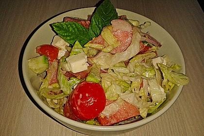 Melonensalat mit Feta 18
