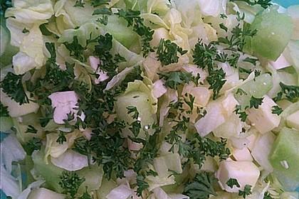 Melonensalat mit Feta 20