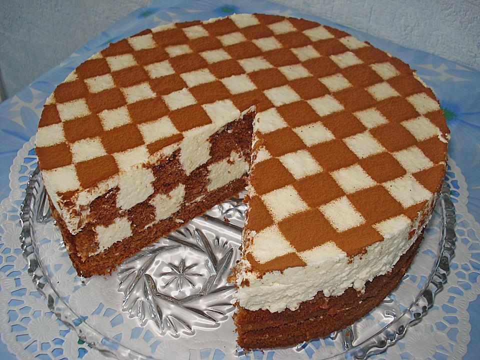 Торт шахматный фото рецепт
