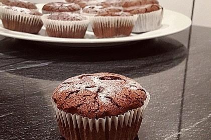 Chocolate - Lava - Muffins 12