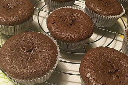 Chocolate - Lava - Muffins 8