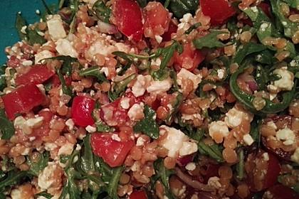 Salat aus roten Linsen 5