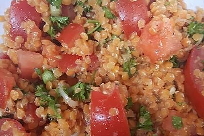 Salat aus roten Linsen 8