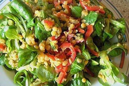 Salat aus roten Linsen 7