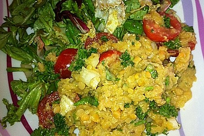 Salat aus roten Linsen 11