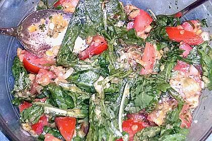 Salat aus roten Linsen 12