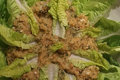 Salat aus roten Linsen 10