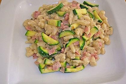 Spätzle mit Schinken und Zucchini 0