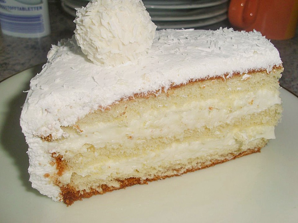 Raffaello torte backen
