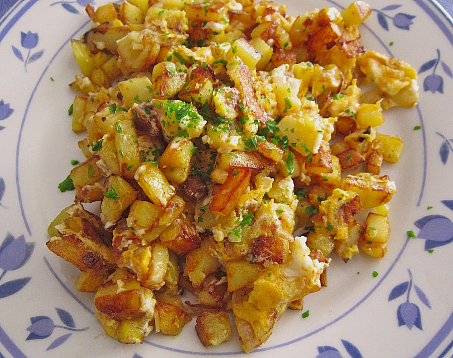 Bratkartoffeln mit was - L ei weich kochen ...