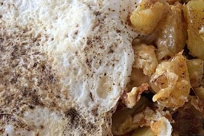 Bratkartoffeln mit Ei und Käse 18