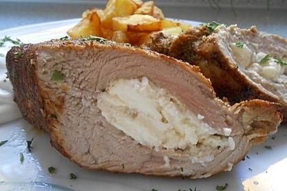 Roros gefülltes Schweinefilet auf griechische Art 2