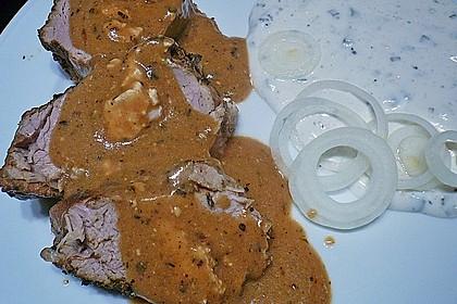 Roros gefülltes Schweinefilet auf griechische Art 6