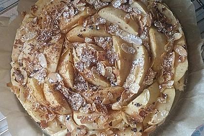 Diät - Apfelkuchen - ganz leicht 2