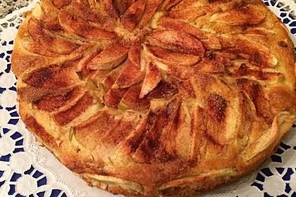 Diät - Apfelkuchen - ganz leicht 6