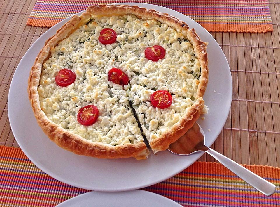 zucchini quiche rezept mit bild von pizza lady. Black Bedroom Furniture Sets. Home Design Ideas