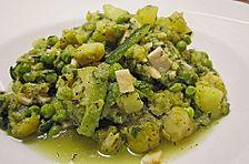 Grüner Gemüse - Eintopf mit Rosenkohl