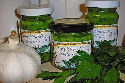 Knoblauch - Kräuter - Paste