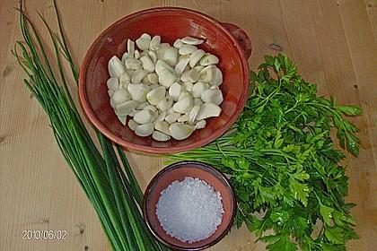 Knoblauch - Kräuter - Paste 5