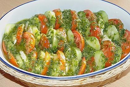 Tomaten - Mozarella - Gurken - Salat 9