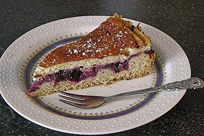 Inschens saure Sahne - Kuchen mit Johannisbeeren (Rezept ...