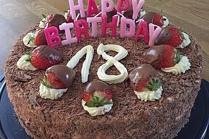 Schnelle Erdbeer - Mascarpone - Torte 14