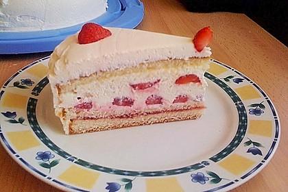 Schnelle Erdbeer - Mascarpone - Torte 11
