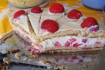 Schnelle Erdbeer - Mascarpone - Torte 45