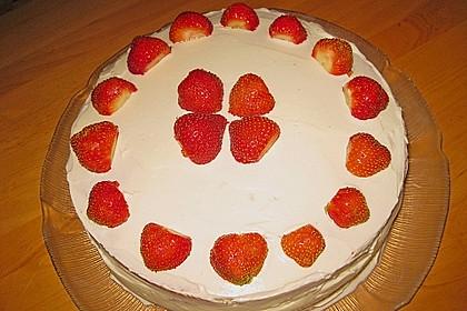Schnelle Erdbeer - Mascarpone - Torte 32