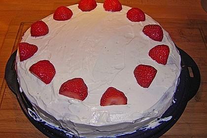 Schnelle Erdbeer - Mascarpone - Torte 35
