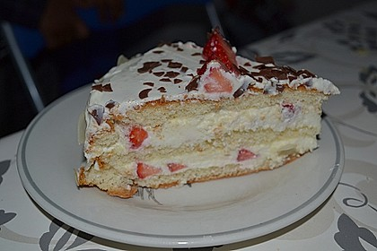 Schnelle Erdbeer - Mascarpone - Torte 22