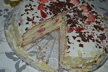 Schnelle Erdbeer - Mascarpone - Torte 15
