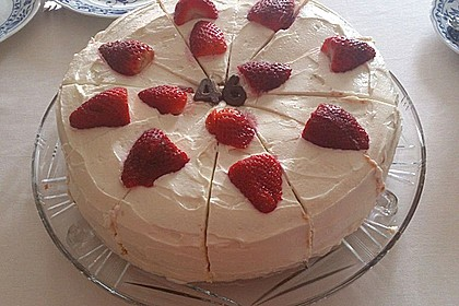 Schnelle Erdbeer - Mascarpone - Torte 26